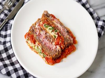 Bolo de Carne à Parmegiana