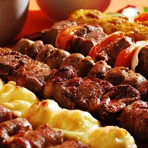Espetinhos de Carne